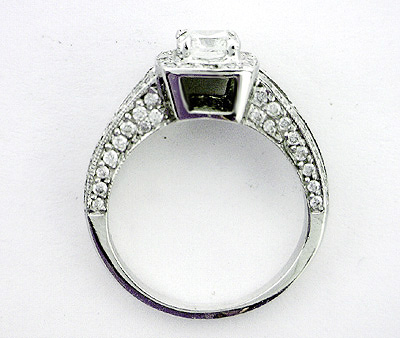 Design Your Own Engagement Ring Halo Setting