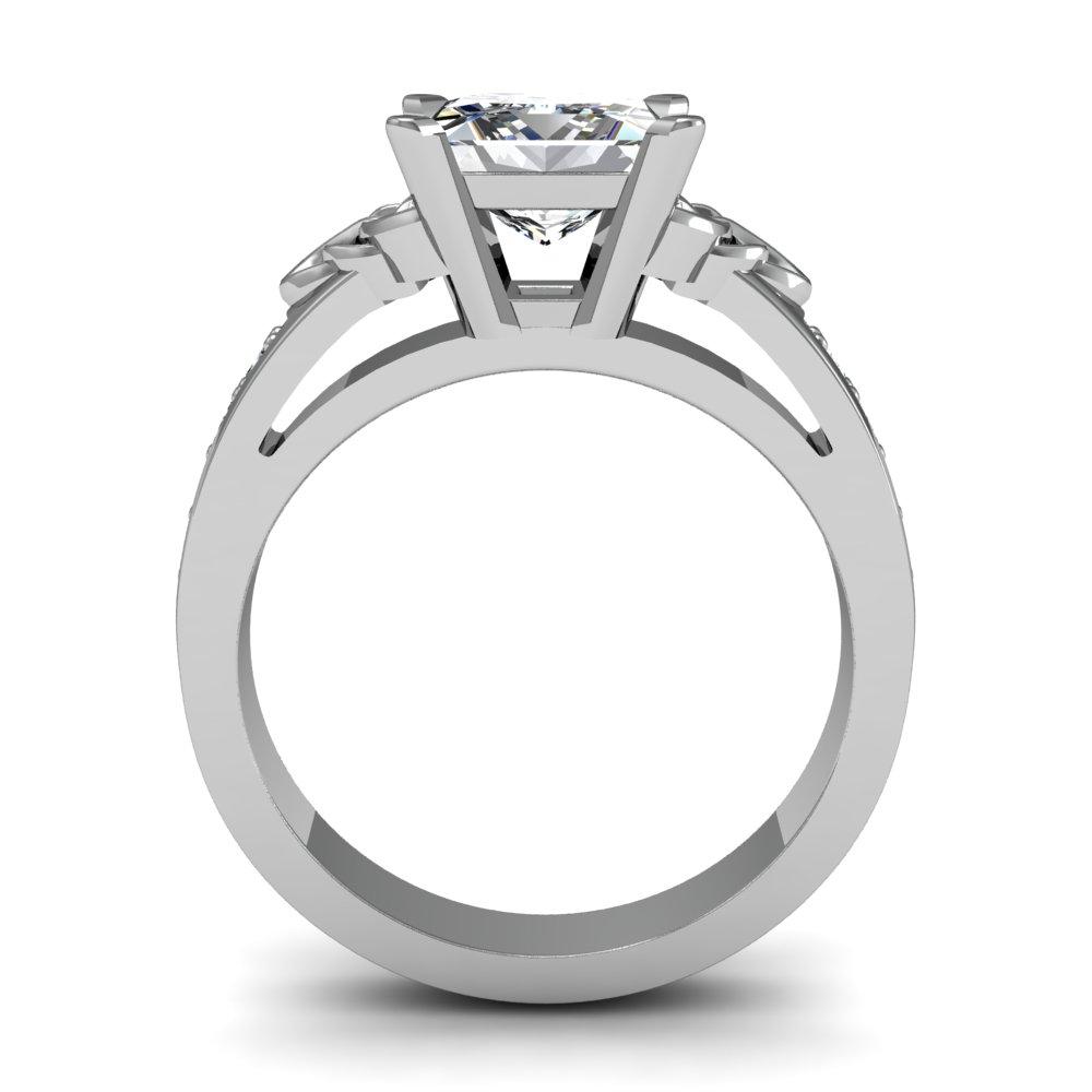 Celtic Design Engagement Ring