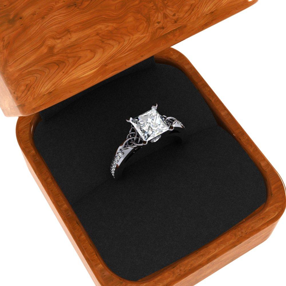 Celtic Knot Wedding Bridal Ring