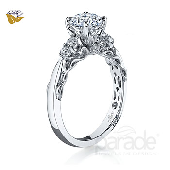 Parade Design Hemera Bridal Twisted 5-Stone Ring
