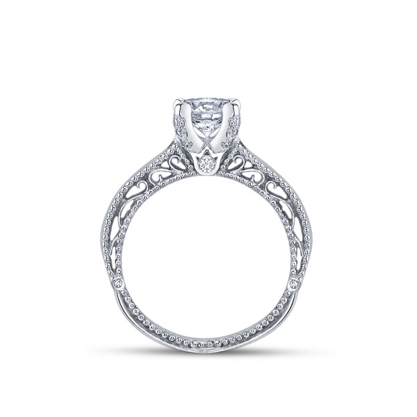 Venetian Designer Verragio Solitaire Diamond Engagement Ring