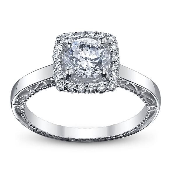 Verragio Venetian Vintage Diamond Engagement Ring Pave
