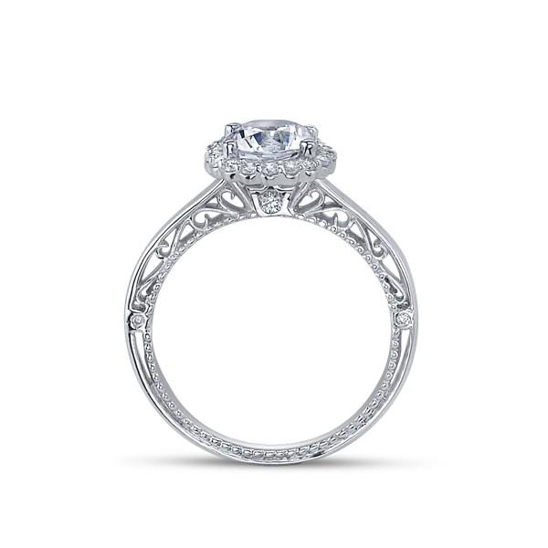 Verragio Venetian Designer Diamond Engagement Ring Pave