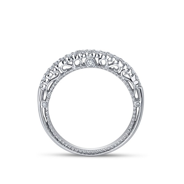 Venetian Diamond Halo Engagement Ring Verragio