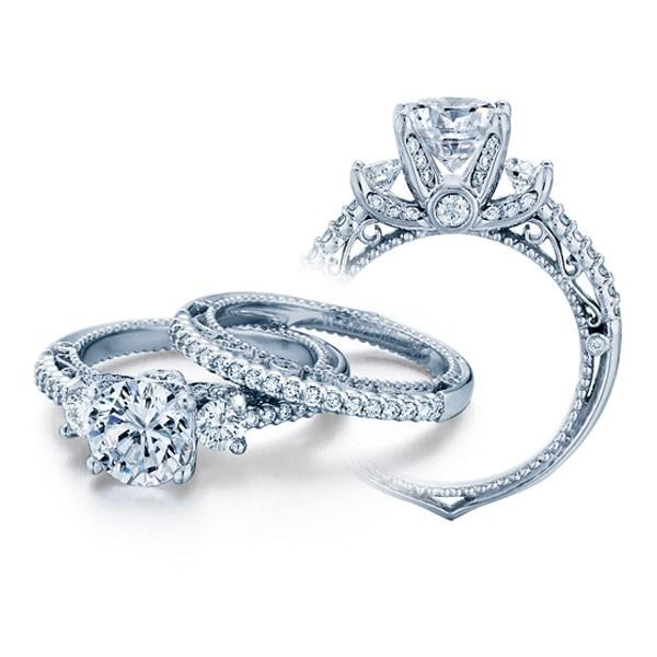 Venetian Verragio Trellis PaveDesigner Diamond Engagement Ring