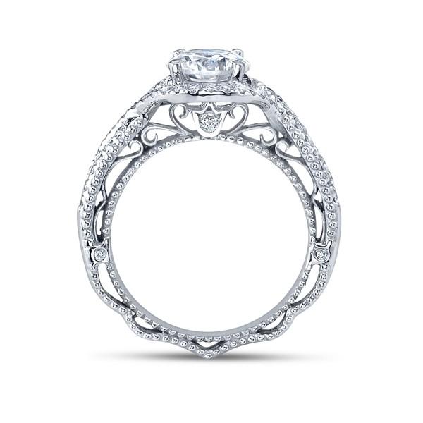 Infinity Verragio Designer Diamond Engagement Ring