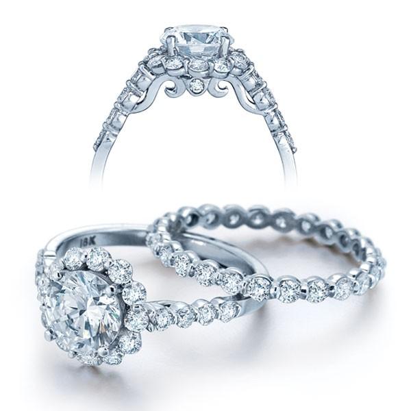 Designer Verragio Solitaire Insignia Engagement Diamond Ring