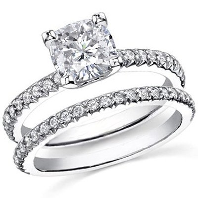 Design Your Own Eternity Ring - U-Setting